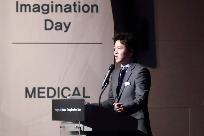 Roland DG Korea Sales & Marketing Leader Eddy Nam