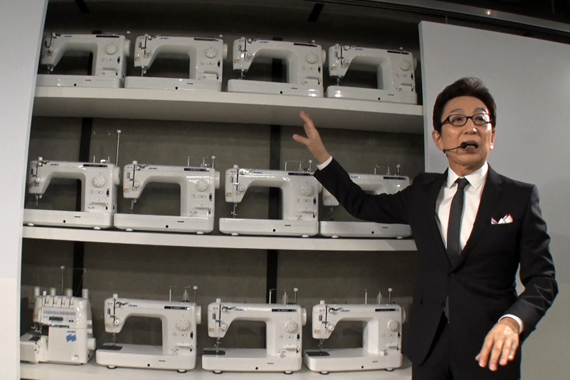 TV anchor Ichiro Furutachi reviewed the available andMade tools.