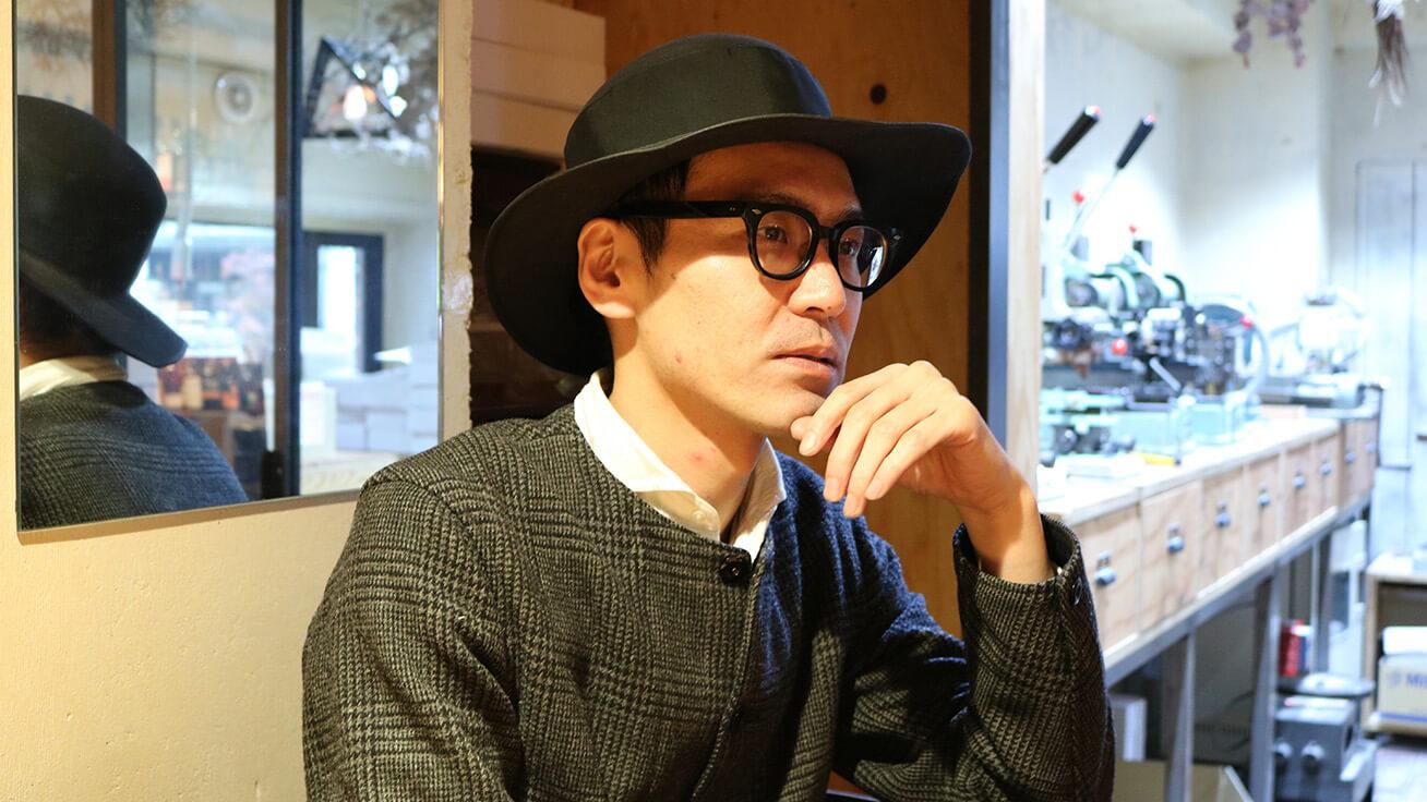 MEGANE-YA STRIKE老板Daisuke Higa