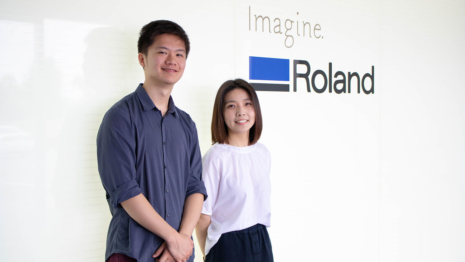 Roland DG's 2019 service department interns
