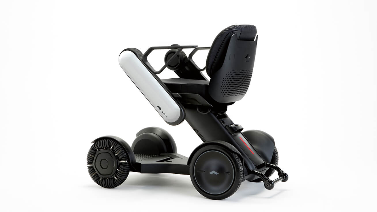 The WHILL Model C is a new wheelchair-type vehicle that makes life an adventure.