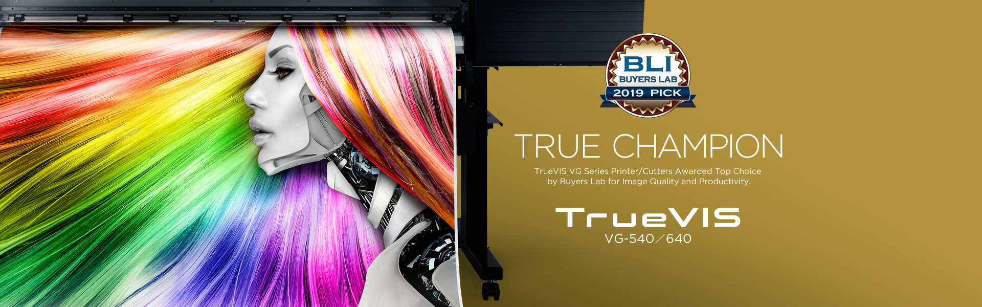 TrueVIS Printer/Cutters Awarded Top Honors from Buyers Lab