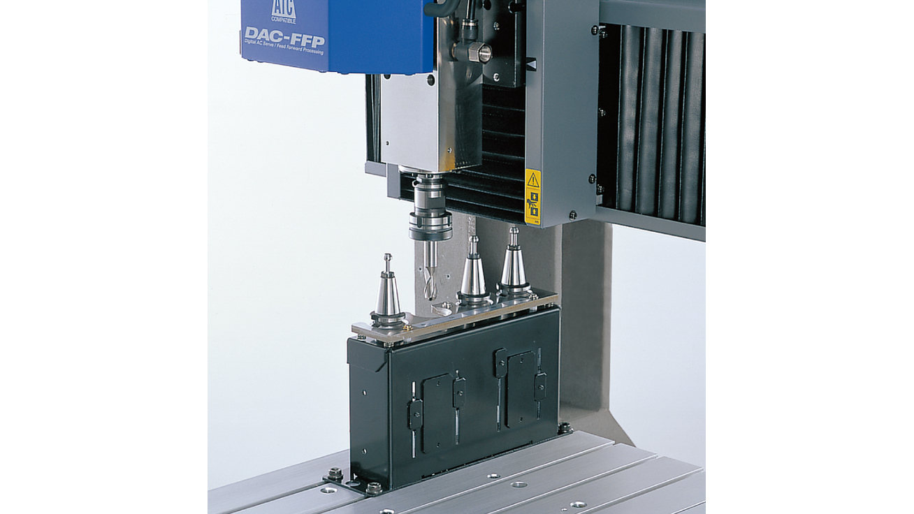 Automatic Tool Changer for Unattended Milling