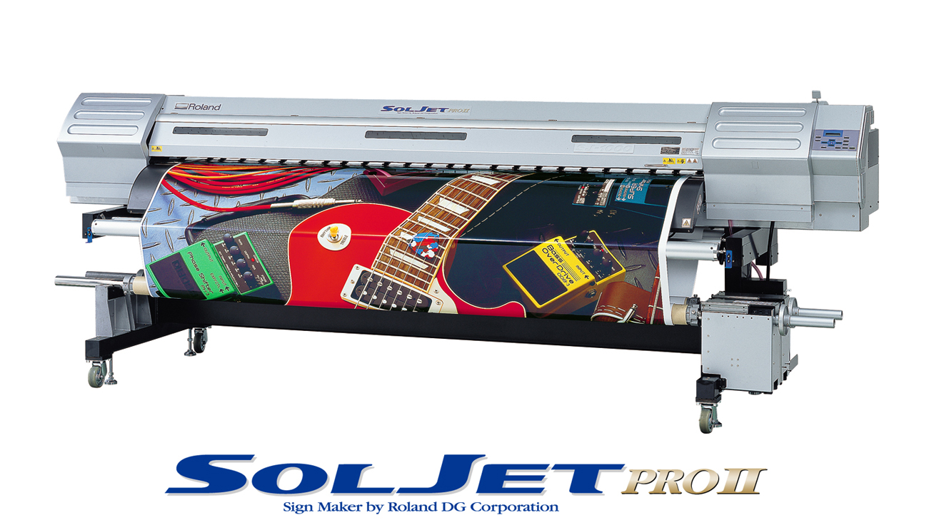 Hamamatsu Japan April 15 2004 Roland DG Corporation Today Entered The Grand Format Market With SJ 1000 Its Widest And Fastest Inkjet Ever