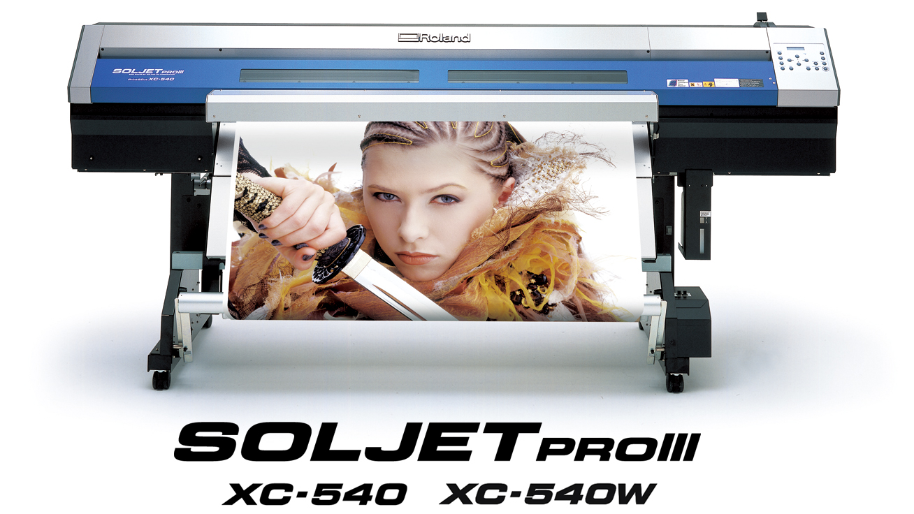 SOLJET PRO III XC-540 Printer/Cutter