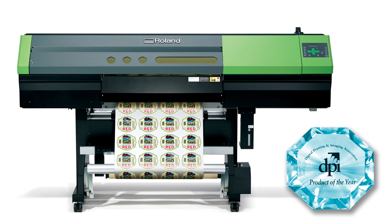 VersaUV Inkjet Printer/Cutter Wins Prestigious DPI Product of the Year Award
