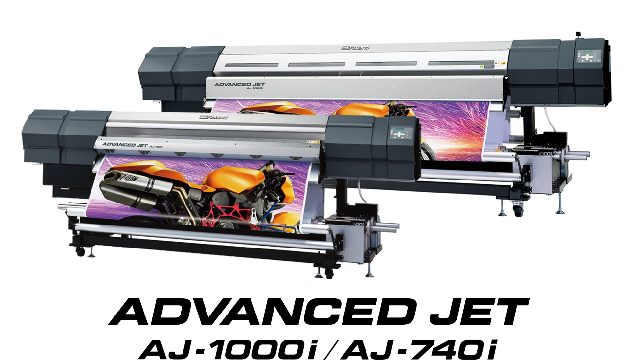 Roland Announces New AdvancedJET I Series Grand Format Printers Featuring Intelligent Pass Control And EcoXtreme Ink