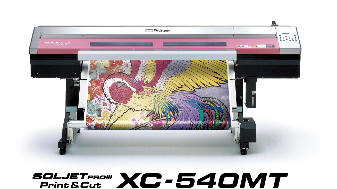Introducing World's First Inkjet Printer/Cutter for Metallic
