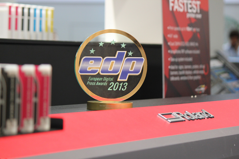 Roland wins EDP Award for ECO-SOL MAX2 inks
