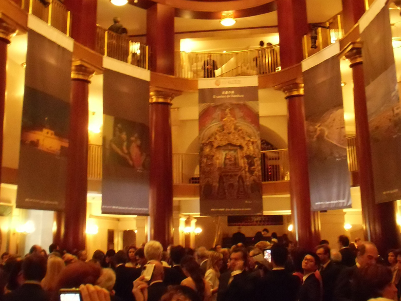 Photographic Exhibition held at the Oval Room of the Teatro Real de Madrid