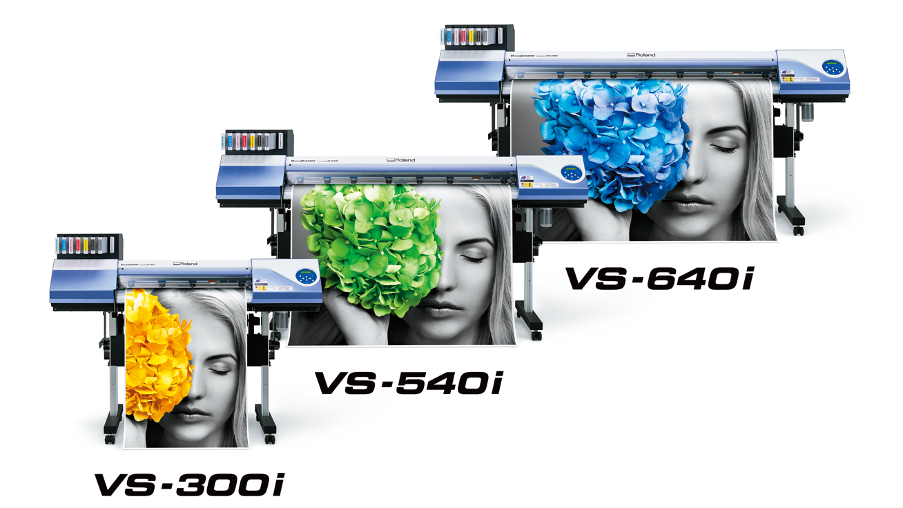 VersaCAMM VS-i Wide Format Printer/Cutter Series