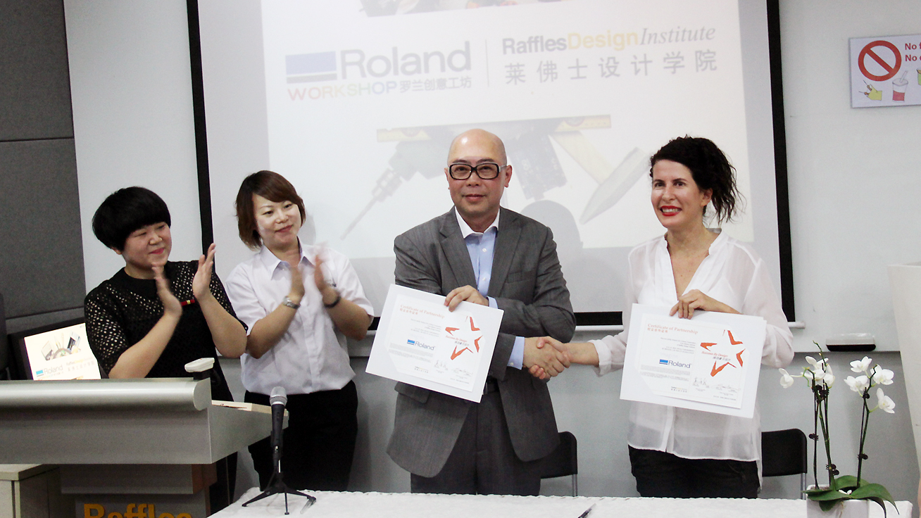 Roland Workshop opening ceremony