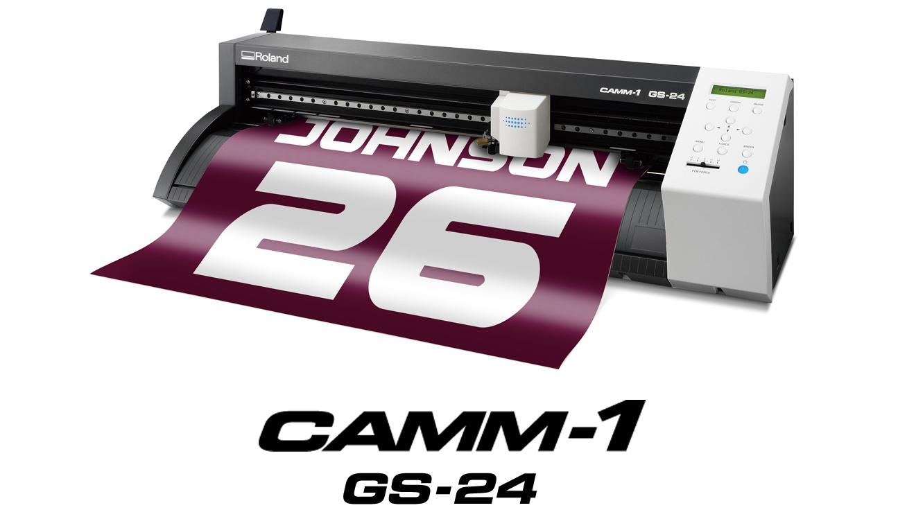 Roland DG Introduces Advanced CAMM-1 GS-24 Desktop Cutter