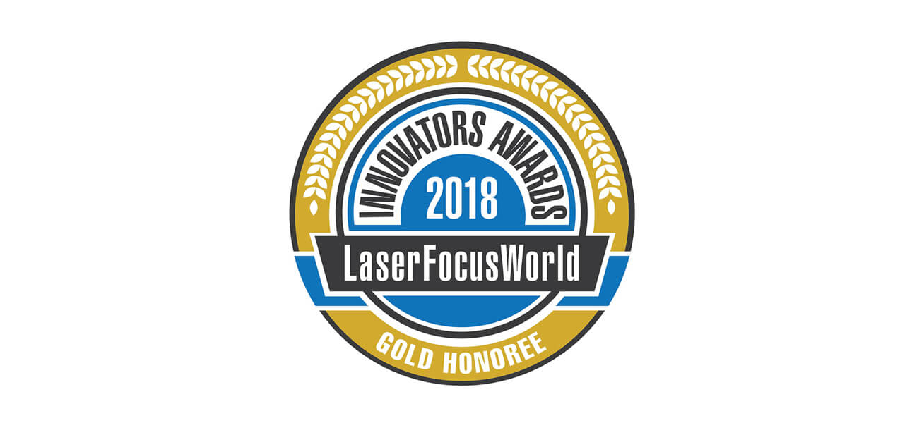 Laser Focus World Gold Honoree award