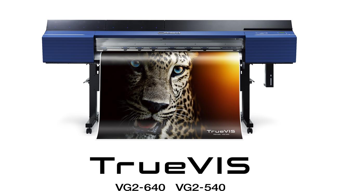 New TrueVIS VG2 Series Printer/Cutters Produce