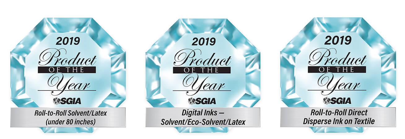 "2019 SGIA ""Product of the Year"" Awards"