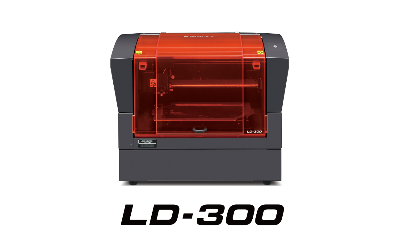 LD-300 laser decorator from DGSHAPE