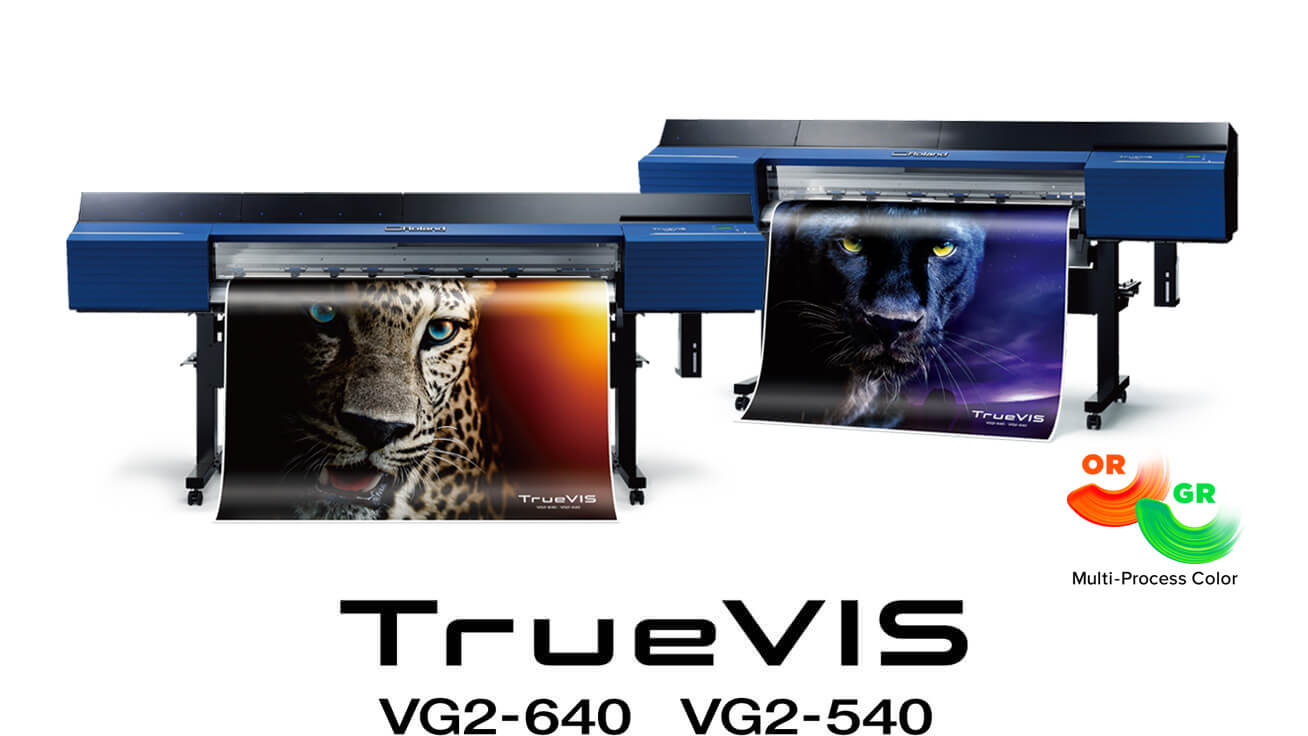 VG2-640/540 wide-format inkjet printer/cutters