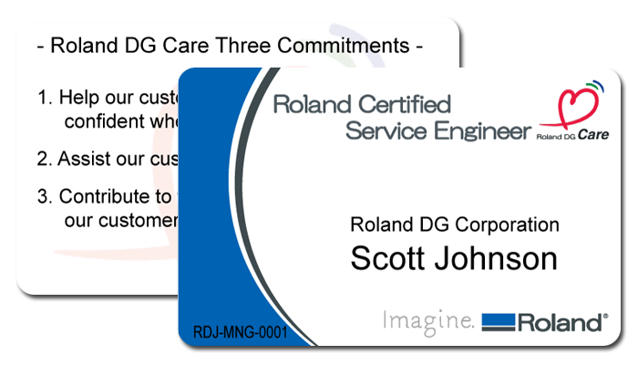 Roland DG Certified Service Engineer