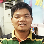 Service Engineer Mr. Zhong Peng (From Guangzhou)
