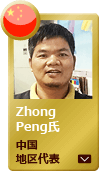 Service  Mr. Zhong Peng  China competition winner