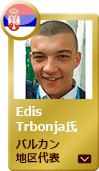 Service Engineer Mr. Edis Trbonja  Balkans competition winner